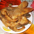 Fried Carp with Corn Flour