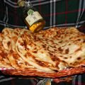 Flatbread with Feta Cheese and Olive Oil