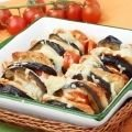 Eggplant with Chicken in Oven