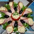 Stuffed Fillet Hors d`Oeuvres