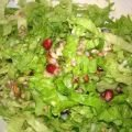 Spring Salad with Buckwheat and Pomegranate