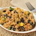 Vegetable and Turmeric Recipes - Quinoa with Black Beans and Corn