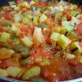 Ratatouille with Eggplant and Zucchini
