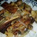 Baked Ribs with Onions