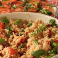 Vegetable and Turmeric Recipes - Couscous with Vegetables