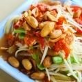 Asian Salad With Peanuts And Chilies