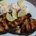 Grilled Carp with Rich Marinade
