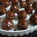 Chocolate Balls with a Glaze