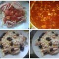 Spaghetti with Chicken Fillet or Bolognese Sauce