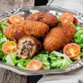 Meat and Coriander Recipes - Stuffed Kibbeh