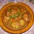 Pork with Peas and Potatoes