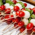Catering Bites on Toothpicks