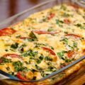 Vegetables with Cream in the Oven