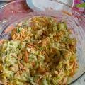 Cabbage Salad for Brandy