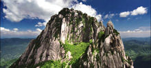 Most beautiful mountains  -  Mount Huangshan