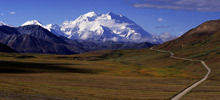 Most beautiful mountains  -  Mount McKinley
