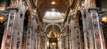 Churches, Cathedrals and Temples -  Basilica of St. Peter, Rome