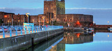 -  Carrickfergus Castle