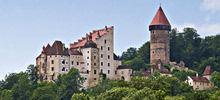 Castles in Austria -  Clam Castle - Burg Clam