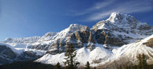 Mountains in the World, Highest Mountains -  Crowfoot Mountain