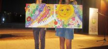 Colorful Pictures to Decorate the Children's Department in Razlog Hospital