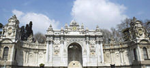 Istanbul -  Dolmabahce palace in Istanbul