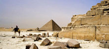 Valley of Death in Ancient Egypt - Ancient pyramid inaugurated in Egypt