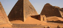 Valley of Death in Ancient Egypt - Nubian Pyramids - a worthy competitor to the Egyptian