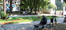 The Park in Razlog Allows you to Cool Off and Incites Admiration
