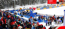 The first round for the Slalom in Bansko won by Austrian Mario Matt