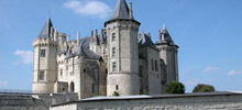Castles in France -  Saumur Castle