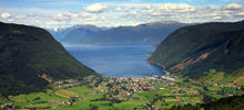 Most beautiful rivers,  -  Sognefjord