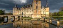 Castles in France -  Chateau de Sully - Sully Castle