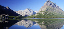 -  Swiftcurrent Lake