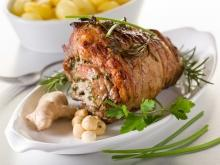 Roasted Leg of Lamb with Rosemary