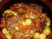 Lamb with Fresh Potatoes