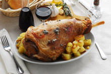 Stuffed Leg of Lamb