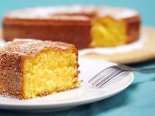Angel Cake with Corn Flour