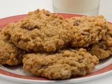 Oat Cookies with Cinnamon