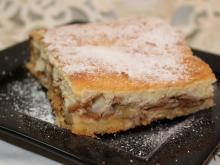 Tasty Apple Cake with Biscuits and Cinnamon