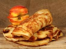 Russian Pancakes with Apples and Carrots