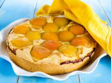 Pie with Apricot Compote