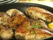 Chicken with White Wine and Garlic