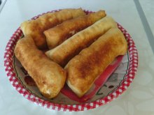 Grandma`s Pirozhki with Feta Cheese