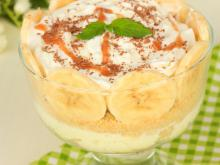 Bananas and Mascarpone Cream