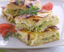 Pie with Zucchini and Cheese