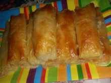 Phyllo Pastries with Cheese and Cream Cheese