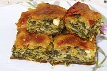 Pastry with Spinach and Walnuts