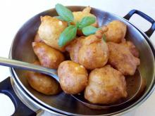 Stirred Fritters with Feta Cheese and Dill