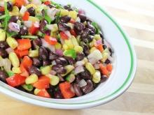 Mixed Bean Salad for Christmas
